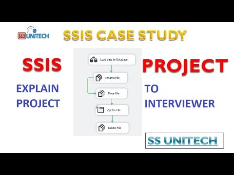 SSIS Project - Part 1   real time ssis project   how to explain about ssis project in interviews