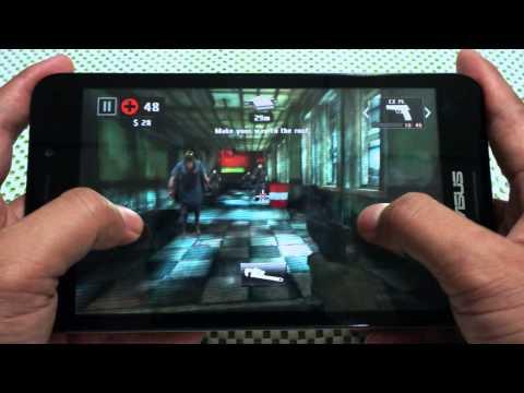 ทดสอบการเล่นเกมบน Tablet  ASUS Fonepad 7 FE375CG