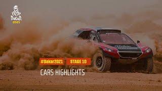 DAKAR2021 - Stage 10 - Neom / AlUla - Car Highlights