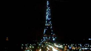 Paris. Eiffel Tower. New Year 2010.