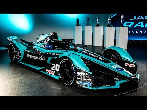 Onthulling I-TYPE 4 Panasonic Jaguar Racing