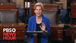 Sen. Warren: Make it Clear. No-one is Above the Law
