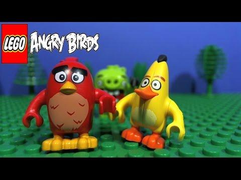 Vidéo LEGO Angry Birds 75821 : L'évasion en voiture du cochon