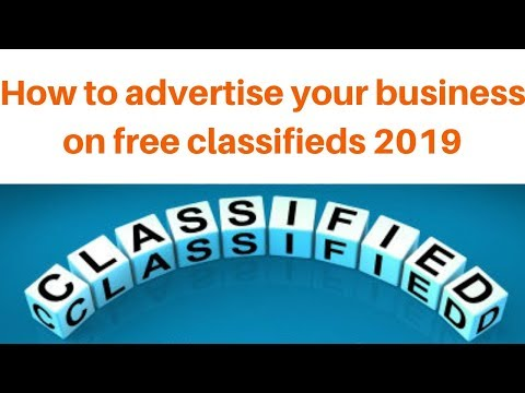 How to get traffic to your website from seo classifieds 2019