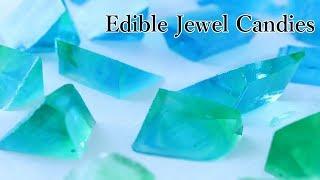 Wagashi Edible Sea Green Jewel Candies Kohakuto 【 Japanese Traditional Candies】