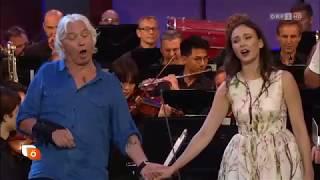 Хворостовский, Гарифуллина  Hvorostovsky, Garifullina 2017 06 23 Summernights gala rehearsal