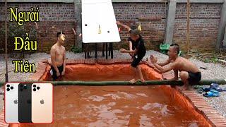 Người Đầu Tiên Ăn Không Bị Rơi Xuống Nước Nhận Iphon 11 promax 30 Triệu Đồng