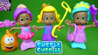 Bubble Guppies Toys Molly Snap And Dress Up Cowgirl Ballerina And Princess Dolls Play Set Toys
