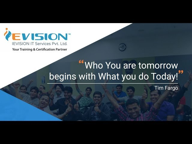 IT Professional Certification Training Courses | IEVISION