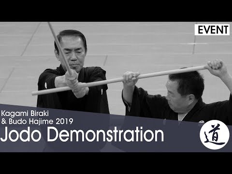 Jodo Demonstration - Kagamibiraki 2019