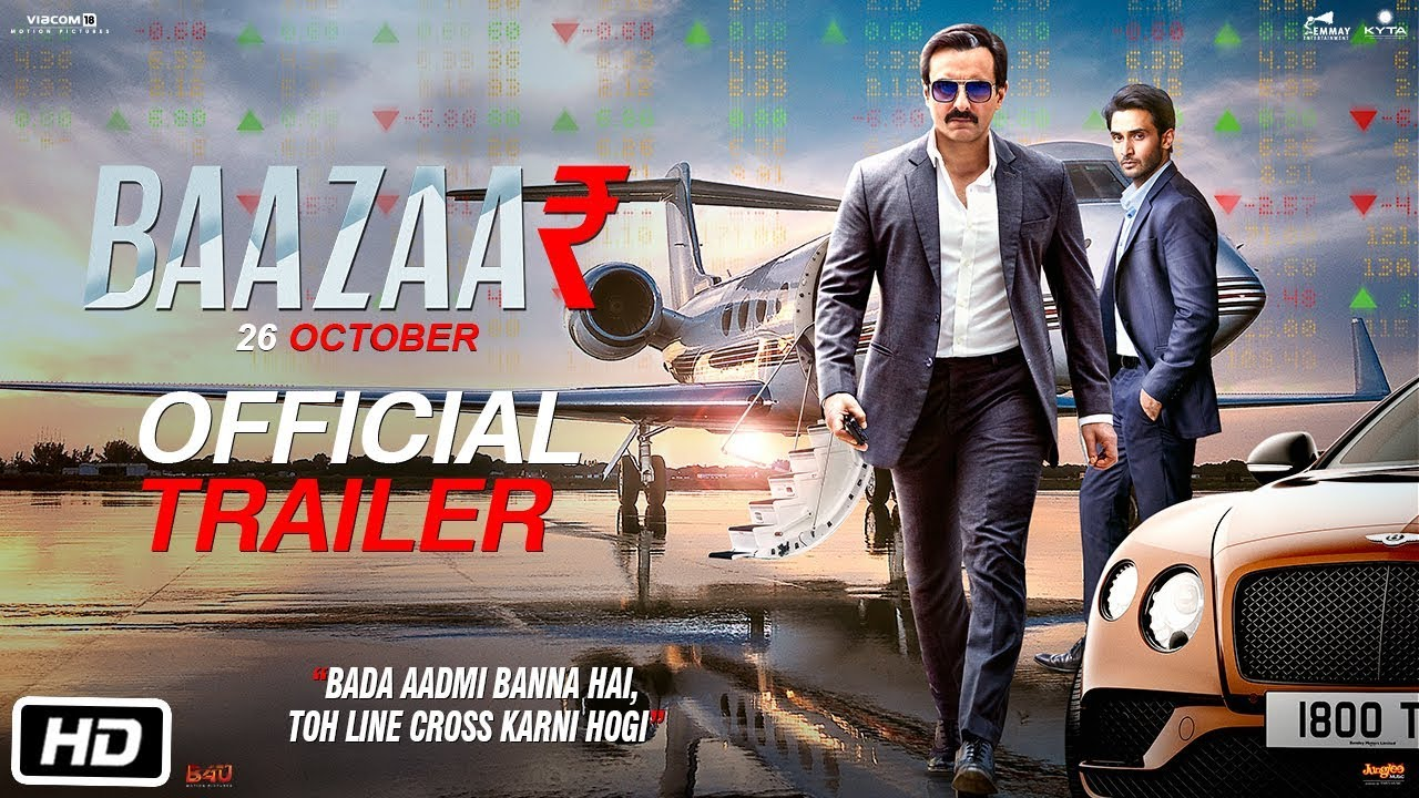 Baazaar trailer ensures it to be a must watch for many