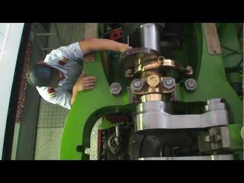 Dampfmaschine der Gisela (1870) / Oscillating Engine Of Steamboat Gisela