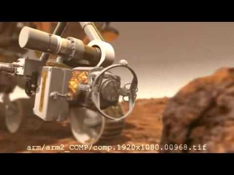 Nieznany film z misji marsjańskiej