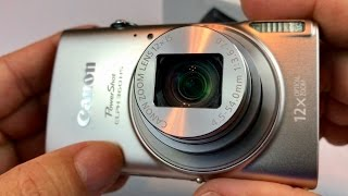 Canon PowerShot ELPH 360 HS video camera with 12x Optical Zoom and Built-In Wi-Fi review