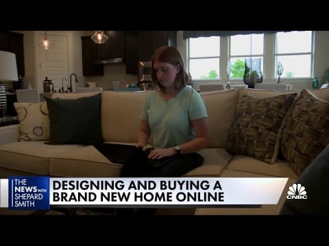Designing and buying a brand new home online