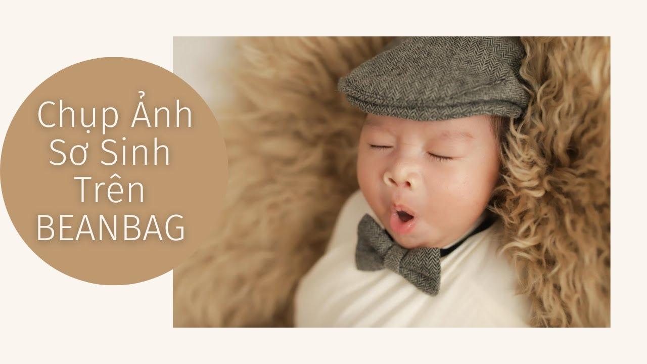 Chụp Ảnh Bé Sơ Sinh Trên Beanbag | XOÀI BABY – Chụp ảnh sơ sinh Nha Trang
