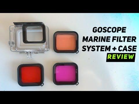 GoScope Underwater FILTERS for GoPro Hero, Hero5, Hero6, Hero7 REVIEW! | MicBergsma