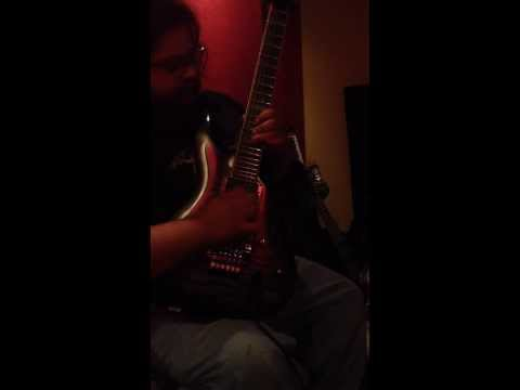 """Studio footage: solo for """"Celestial Demise"""""""
