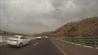 preview picture of video 'כביש 4 מצומת נחל חדרה לצומת פארדיס - .Road 4 from Nahal Hadera to Furadis Junc'