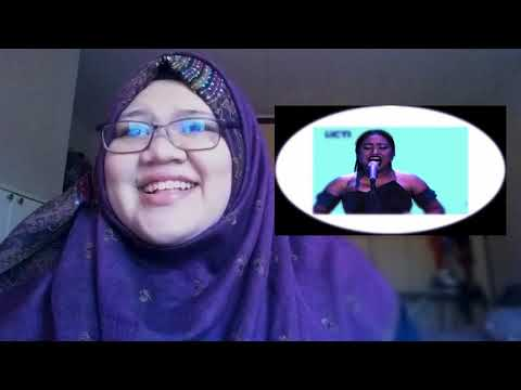 MARIA - NEVER ENOUGH (Loren Allred) - Spekta Show Top 7 - Indonesian Idol 2018 | Malaysian reaction