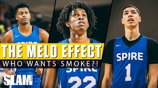 THE MELO EFFECT! LaMelo Ball & Spire Want All the Smoke! 💨