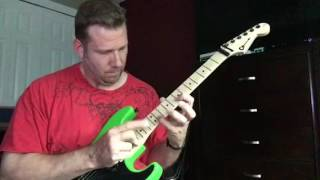Dokken - George Lynch -  Tooth and Nail Solo cover
