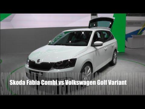 Skoda Fabia Combi Универсал класса B - тест-драйв 5