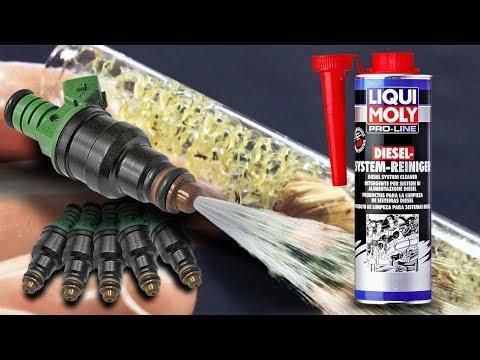 Liqui moly Diesel System Reiniger Jak skutecznie dodatek do diesla czyści wtryskiwacze / wtryski?