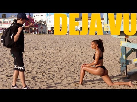 DEJA VU PRANK WITH SEXY VENICE BEACH GIRLS!
