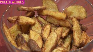 Restaurant Style Crispy Potato Wedges