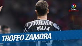 Jan Oblak - Trofeo Zamora LaLiga 2017/2018