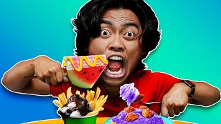 Eating WEIRDEST FOOD COMBINATIONS EXPERIMENT!