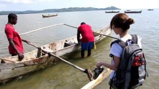 preview picture of video 'Walking to our Pirogue Canoe at Lokobe National Park'