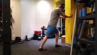 Mobility static calf stretch