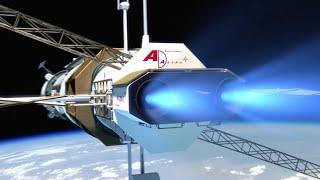 39 Days to Mars! NASA's New Plasma Engine!