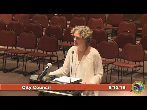 City Council 8.12.2019