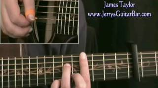 How To Play James Taylor Sunshine Sunshine (preview only)