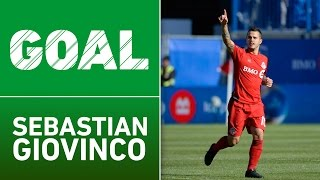 GOAL: Sebastian Giovinco with a spin move and the finish by Major League Soccer