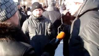 митинг против Путина в Екатеринбурге / rally against Putin