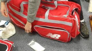New Balance Jumbo Trolley Wheelie Cricket Bag Review