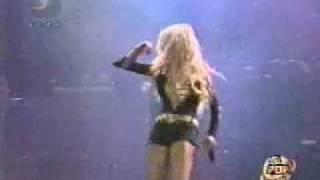 Christina Aguilera Genio Atrapado Caracas Pop Festival 2001