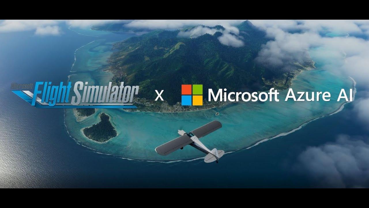 Microsoft Flight Simulator Partnership Series: Azure Cognitive Services (Speech) Video Still