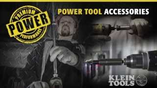 Power Tool Accessories From Klein Tools