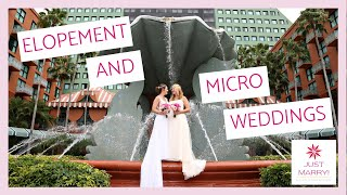 Elopement and Micro Weddings: Why It's the PERFECT Time to Have One