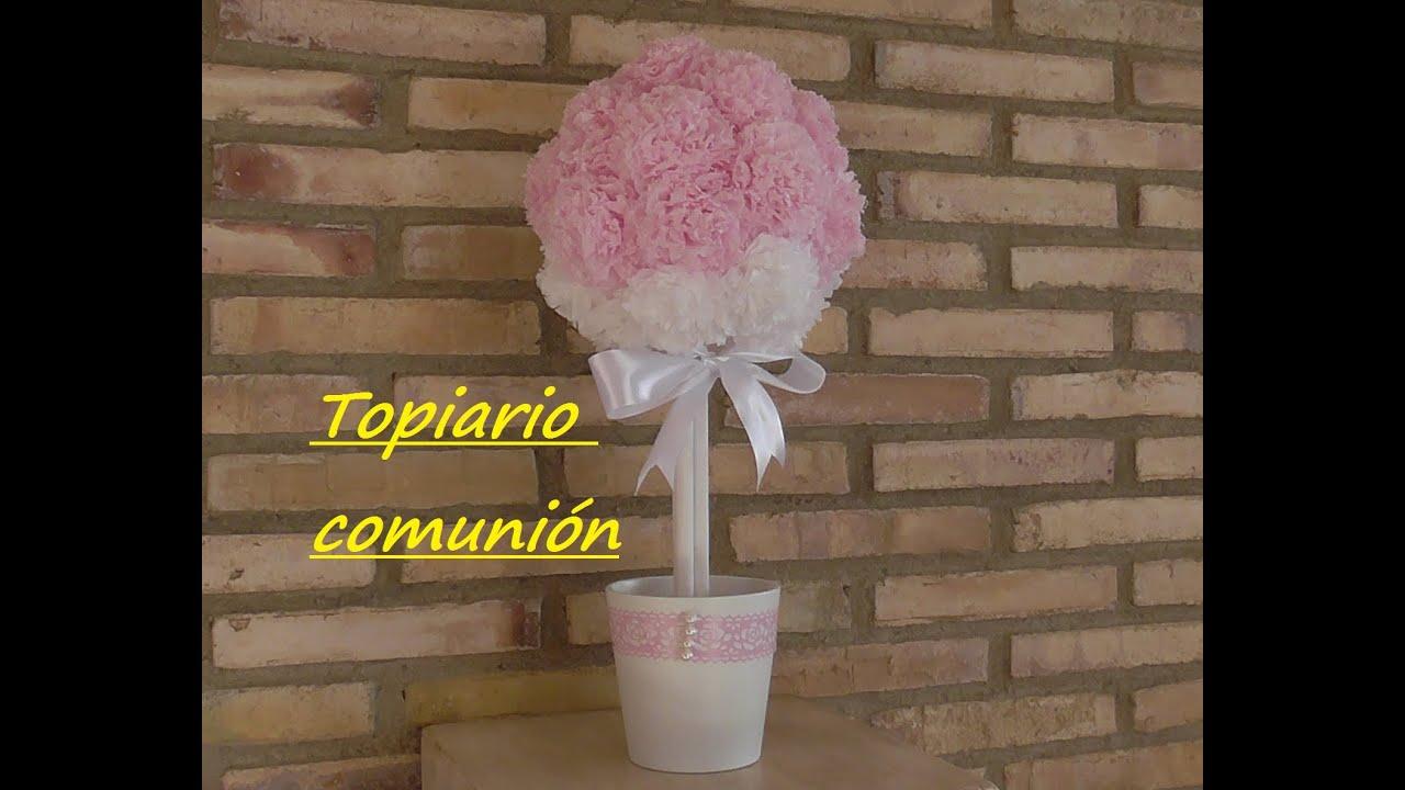 Topiario para celebración. ⛪Comunión, Boda, Bautizo
