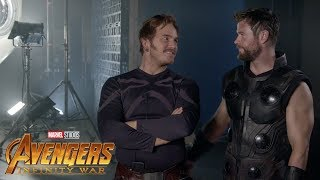 Avengers Infinity War - Behind the Scenes