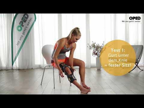 Entfernung von Osteophyten Knie