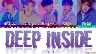 AB6IX (에이비식스)   'DEEP INSIDE' Lyrics [Color Coded_Han_Rom_Eng]