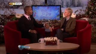 Jamie Foxx on Ellen