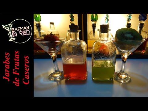 Jarabes de Frutas Caseros (para bebidas) - Tutorial 3